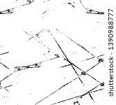 black dusty scratchy texture.... | Shutterstock .eps vector #1390988777