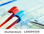 form to fill in the results of  ... | Shutterstock . vector #139099559