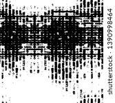 black dusty scratchy texture.... | Shutterstock .eps vector #1390998464