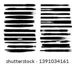 grunge paint roller . vector... | Shutterstock .eps vector #1391034161