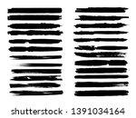 grunge paint roller . vector...   Shutterstock .eps vector #1391034164