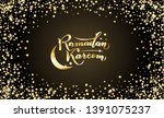 vector illustration. islamic... | Shutterstock .eps vector #1391075237