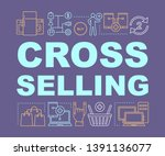 cross selling word concepts... | Shutterstock .eps vector #1391136077