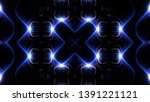 abstract kaleidoscope... | Shutterstock . vector #1391221121