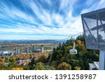Portland Aerial Tram With A...