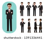 set of working people on white... | Shutterstock .eps vector #1391336441