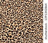 animal print leopard skin... | Shutterstock .eps vector #1391342864