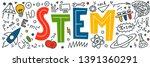 stem. science  technology ...   Shutterstock .eps vector #1391360291