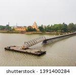 dakshineswar  kali templ in...   Shutterstock . vector #1391400284
