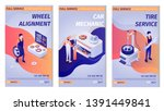 set of lettering advertisements ... | Shutterstock .eps vector #1391449841