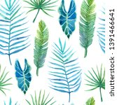 seamless pattern with lush...   Shutterstock . vector #1391466641