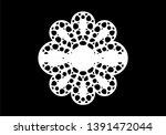 new decorative scallop borders... | Shutterstock .eps vector #1391472044