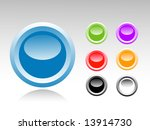 set of color buttons | Shutterstock . vector #13914730