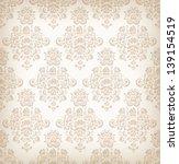 seamless floral retro pattern. | Shutterstock .eps vector #139154519