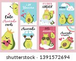Collection Of Avocado Set With...