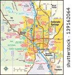 colorado springs  colorado area ...   Shutterstock .eps vector #139162064