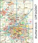 Denver  Colorado Area Map