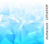 abstract   light blue... | Shutterstock . vector #139165439