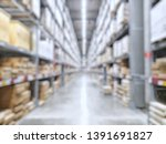it is a warehouse of a large...   Shutterstock . vector #1391691827