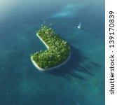 island alphabet. paradise... | Shutterstock . vector #139170839