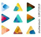 design triangle  arrow vector... | Shutterstock .eps vector #139172519