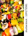 barbecue with healthy and... | Shutterstock . vector #139173581