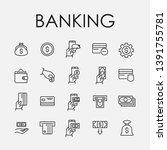 set of 20 banking icons....