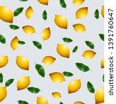 seamless wallpaper  vector...   Shutterstock .eps vector #1391760647