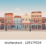 city background | Shutterstock .eps vector #139179524