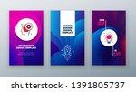 vertical banner design for... | Shutterstock .eps vector #1391805737