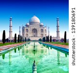 india  taj mahal. indian palace ... | Shutterstock . vector #139180691