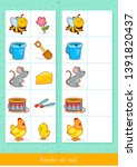 educational children game ... | Shutterstock .eps vector #1391820437