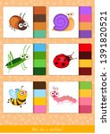 educational children game ... | Shutterstock .eps vector #1391820521