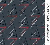 sports textile modern seamless...   Shutterstock .eps vector #1391918774