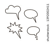 chat icon in flat style. speech ...