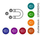 grey customer attracting line... | Shutterstock .eps vector #1392040541