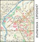 denver  colorado downtown map   Shutterstock .eps vector #139204247