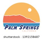 palm springs t shirt design ...