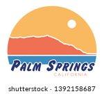palm springs t shirt design ...