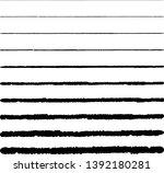 horizontal textured stripes.... | Shutterstock .eps vector #1392180281