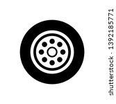car wheels icon vector design... | Shutterstock .eps vector #1392185771