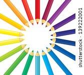 background of set of multicolor ... | Shutterstock .eps vector #139222001