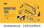 marketing e commerce  data...   Shutterstock .eps vector #1392229814