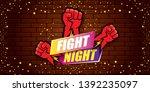 fight night vector modern...   Shutterstock .eps vector #1392235097