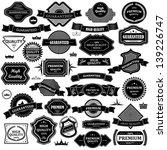 vintage design elements   set.... | Shutterstock .eps vector #139226747
