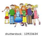 people | Shutterstock . vector #13923634