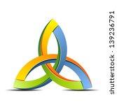 trinity sign | Shutterstock .eps vector #139236791