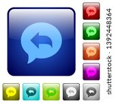 reply message icons in rounded...   Shutterstock .eps vector #1392448364