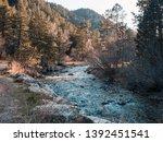 pretty river in eldorado canyon ...