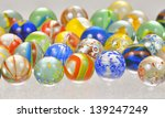 Colored Glass Balls Shoot In...